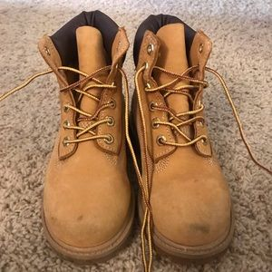 Boy's Timberland boots
